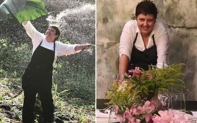Roberta Sudbrack afirma que, na carreira de chef de cozinha, é importante ter