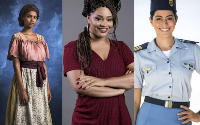 Três atrizes voltam para novelas após terem filhos em