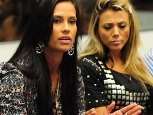 Kelly e Fabiana: amizade abalada nos últimos dias confinamento