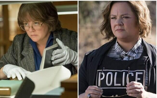 Melissa McCarthy vive dois extremos ao ser indicada ao Oscar e ao Framboesa de Ouro