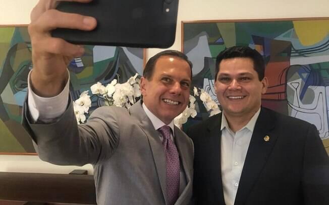 O governador paulista acredita que a vitória de Alcolumbre foi difícil, mas muito importante