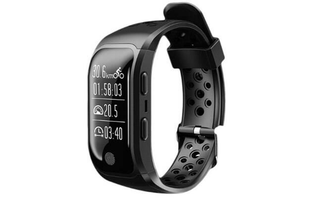 Relógio Inteligente Amphibious Smartband com GPS Integrado, Prova D'água, Monitor Cardíaco; Por: R$ 269.90 em até 12x de R$22,49 sem juros.