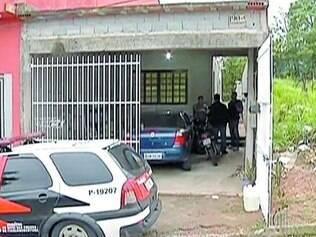 Assassinato. Patrícia de Jesus Silva matou sua filha (detalhe) na casa da família em Itaquaquecetuba