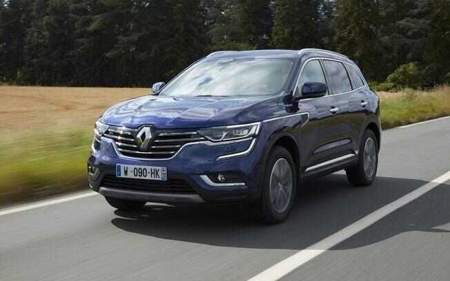 O enorme Renault Koleos será a entrada da marca no segmento dos utilitários esportivos maiores. Chega às lojas em meados de 2017.