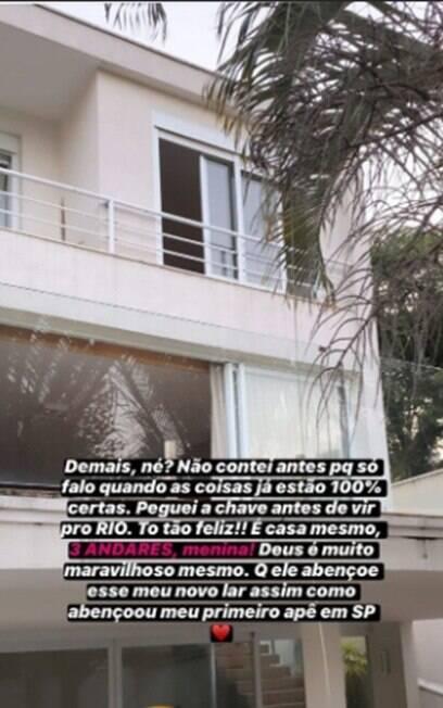 Casa de Bianca Andrade