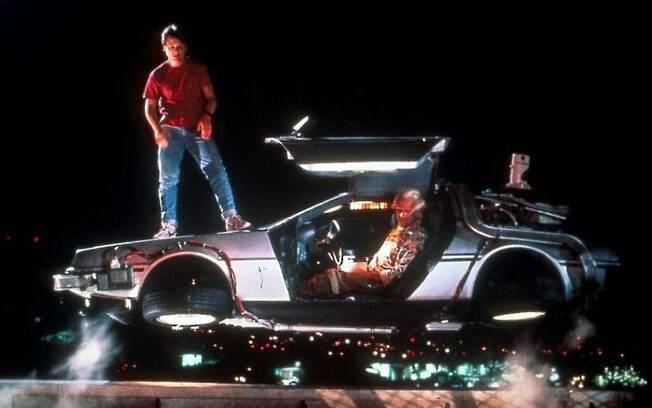 O DMC DeLorean no filme De Volta Para o Futuro (Spielberg), a razão para o seu reconhecimento mundial