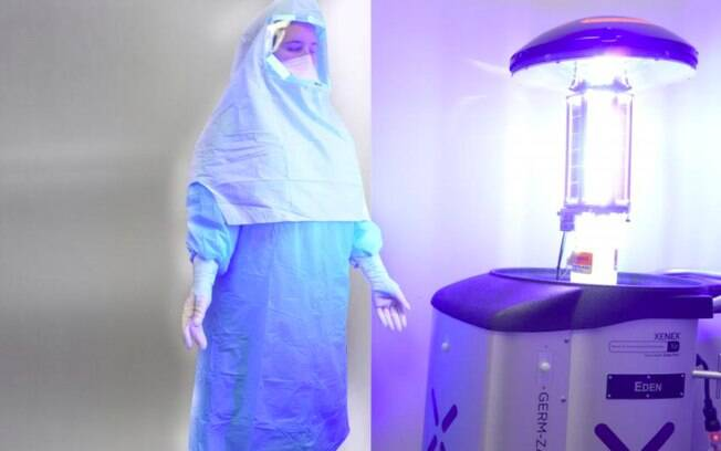 Luz ultravioleta pode matar o novo coronavírus (Sars-CoV-2)