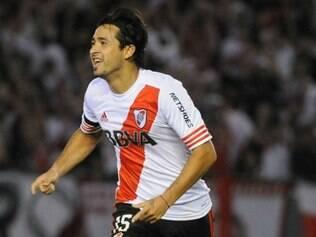 Pisculichi foi o autor do gol que garantiu a classificação do River nas finais da Sul-Americana