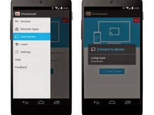 Chromecast agora espelha conteúdos de smartphones ou tablets Android