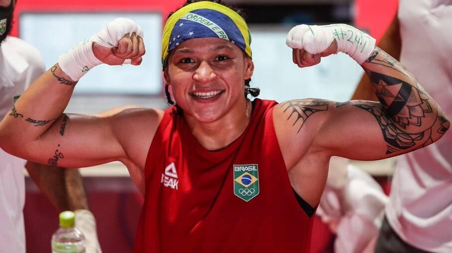 Bia Ferreira segue bem nos Jogos de Tóquio