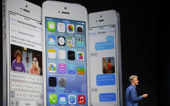Nova versão do iOS traz maior mudança no software desde o lançamento do primeiro iPhone