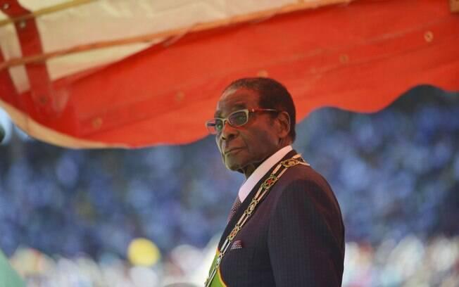 Governo dos EUA fez críticas à nomeação do presidente do Zimbábue, Robert Mugabe, como