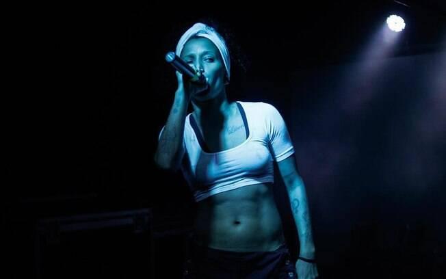 Luana Hansen, artista negra que está na cena musical brasileiro há 20 anos, mas sente que as mulheres ainda não tem incentivo o suficiente
