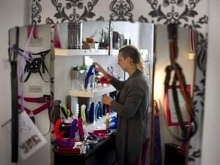 Anne Bonnie Schindler, gerente da loja