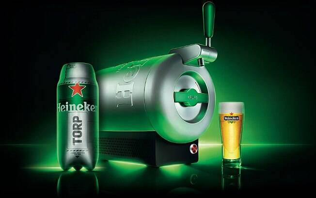 Máquina de tirar chope da Heineken chega aos mercados no ano que vem