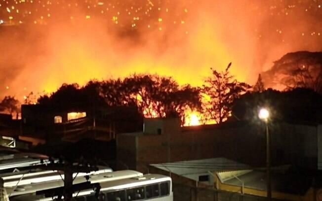 Incêndios atingem áreas de mato em Campinas e Monte Mor