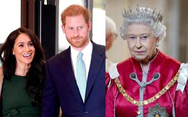 Príncipe Harry teria brigado com a rainha por Meghan Markle