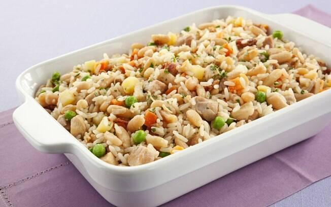O arroz completo tem tudo o que é gostoso em um prato só!