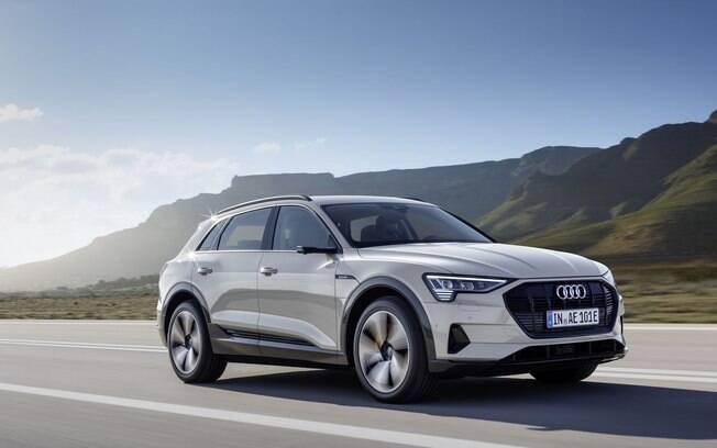 e-tron é o novo SUV elétrico da Audi; o primeiro 100% elétrico desde o R8 e-tron