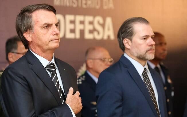 Bolsonaro voltou a se reunir com Dias Toffoli