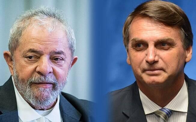 Lula e Bolsonaro são dois dos políticos mais envolvidos em casos de fake news na campanha presidencial brasileira