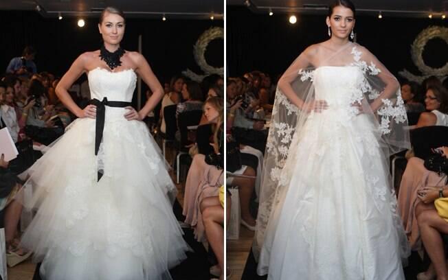 Dois modelos de Lucas Anderi, que lançou coleção própria na CasaModa