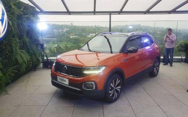 VW T-Cross 2019 é apresentado em São Paulo, antes de chegar às lojas,  a partir em abril do ano que vem