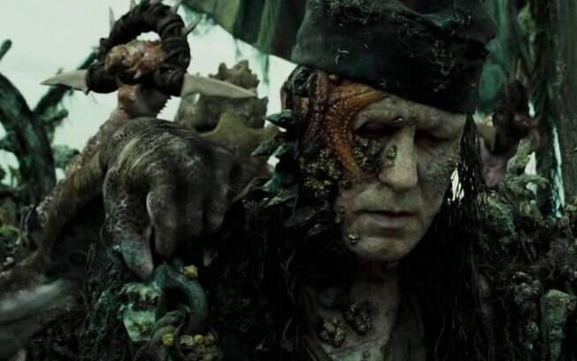 Sentenciado a uma vida de servidão, Bootstrap Bill foi culpado pela maldição do Pérola Negra em ''Piratas do Caribe''