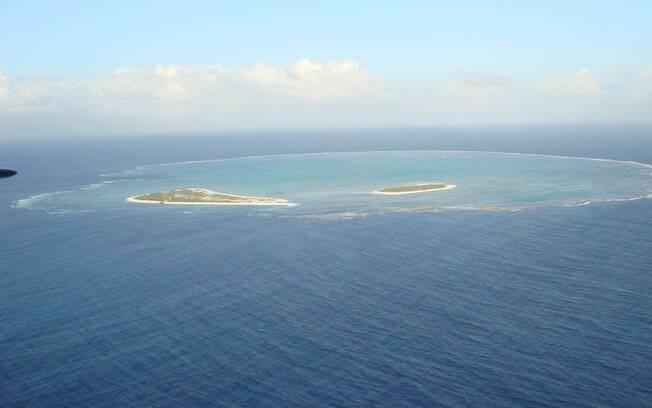 Nem todas as ilhas remotas são acessíveis. O Atol das Rocas só pode ser visitado por turistas com permissão do IBAMA