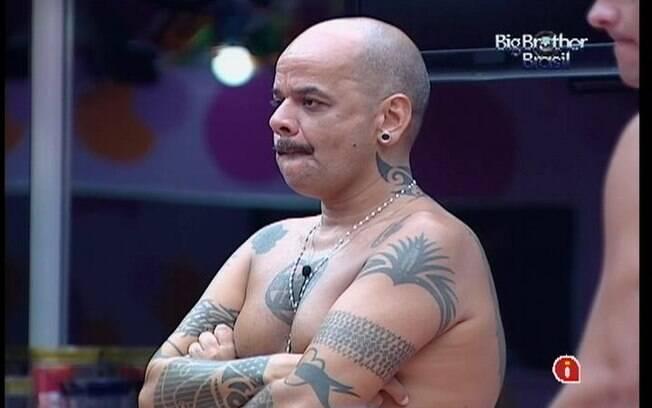 João Carvalho está no Paredão desta terça-feira (06)