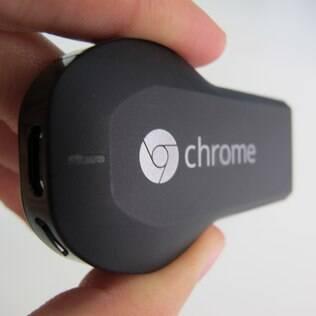 Chromecast chegou ao Brasil por R$ 199