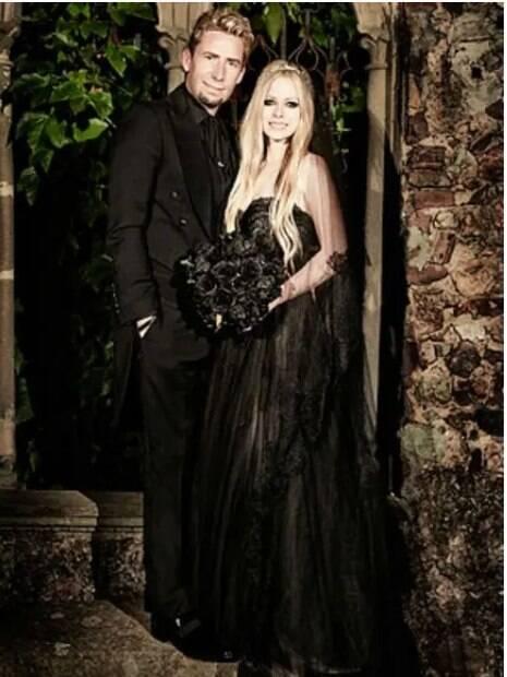casamento de Avril Lavigne
