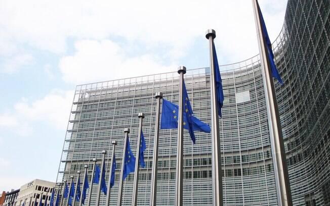 Sede da União Europeia na Bélgica
