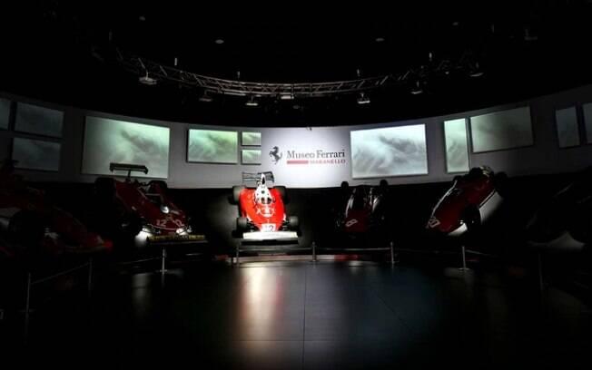 Ferrari iluminou o carro em que Niki Lauda venceu seu primeiro mundial de pilotos na F1
