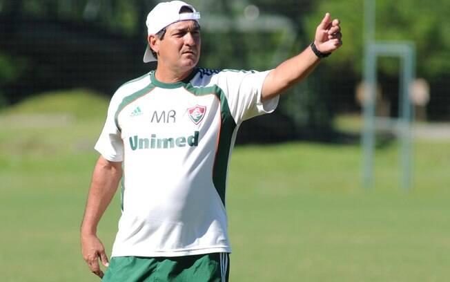Muricy Ramalho comanda treino do Fluminense