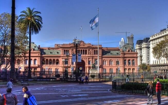Sede do poder executivo, Casa Rosada foi alvo de tentativas de ataques