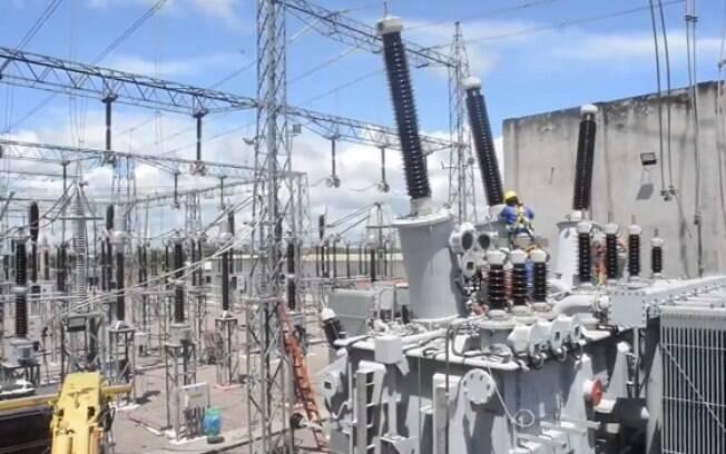 Energização do segundo transformados na subestação Macapá