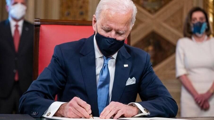 Joe Biden mostrou que seu governo seguirá os ideais da política tradicional