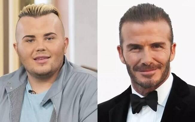 Jack Johnson já gastou cerca de R$ 163 mil para ficar parecido com David Beckham