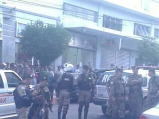 Assaltante foi morto no meio da rua no Centro de Divinópolis