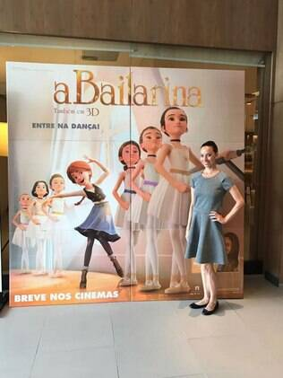 Claudia Mota, primeira bailarina do Municipal do Rio, é embaixadora da produção no Brasil