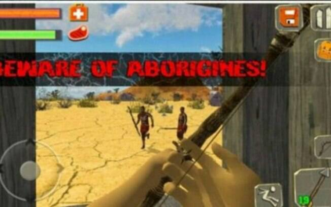 Descrição do jogo promete aos usuários uma