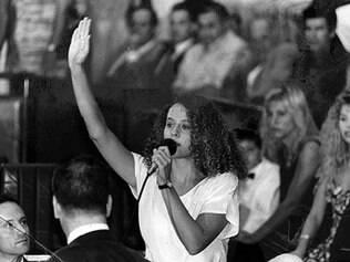 Luciana Genro conquistou sue primeiro mandato de deputada em 1994