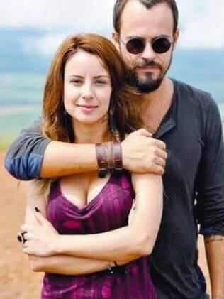Andreia Horta com Paulo Vilhena em 'A Teia'