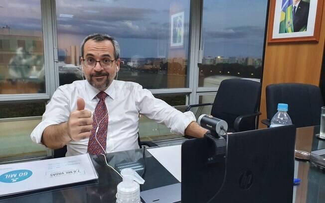 Abraham Weintraub chamou ministro do STF de vagabundos