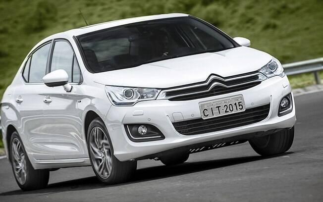 Citroën C4 Lounge THP: o modelo ficou quase esquecido em um segmento dominado pelo Jetta TSI
