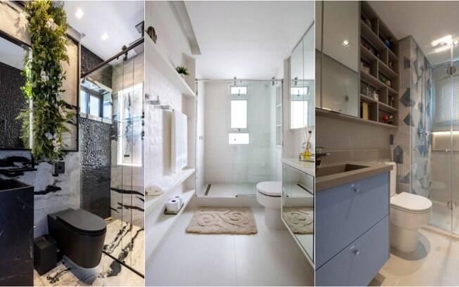 Veja de que maneira otimizar o ambiente na hora de decorar o banheiro