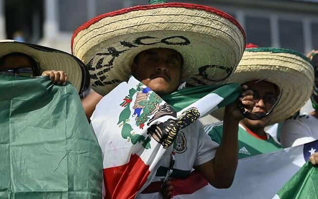 Mexicanos sentem saudades da Copa América