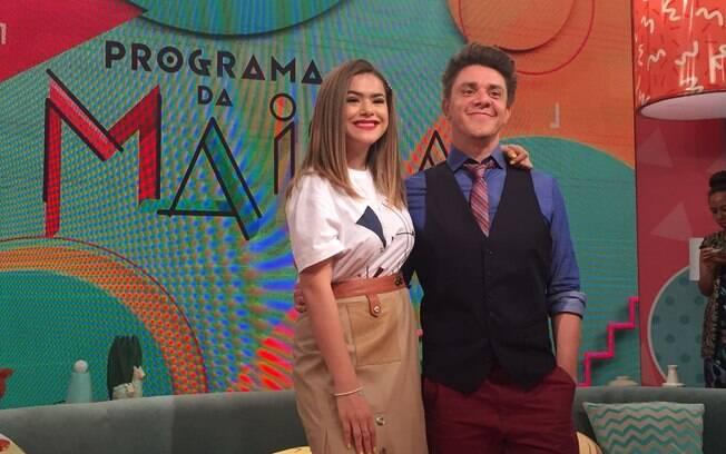 Oscar Filho vai ser o companheiro de programa de Maisa na nova atração do SBT