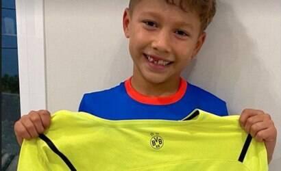 Nem Messi, nem Ney: Haaland é o ídolo do filho de Suárez